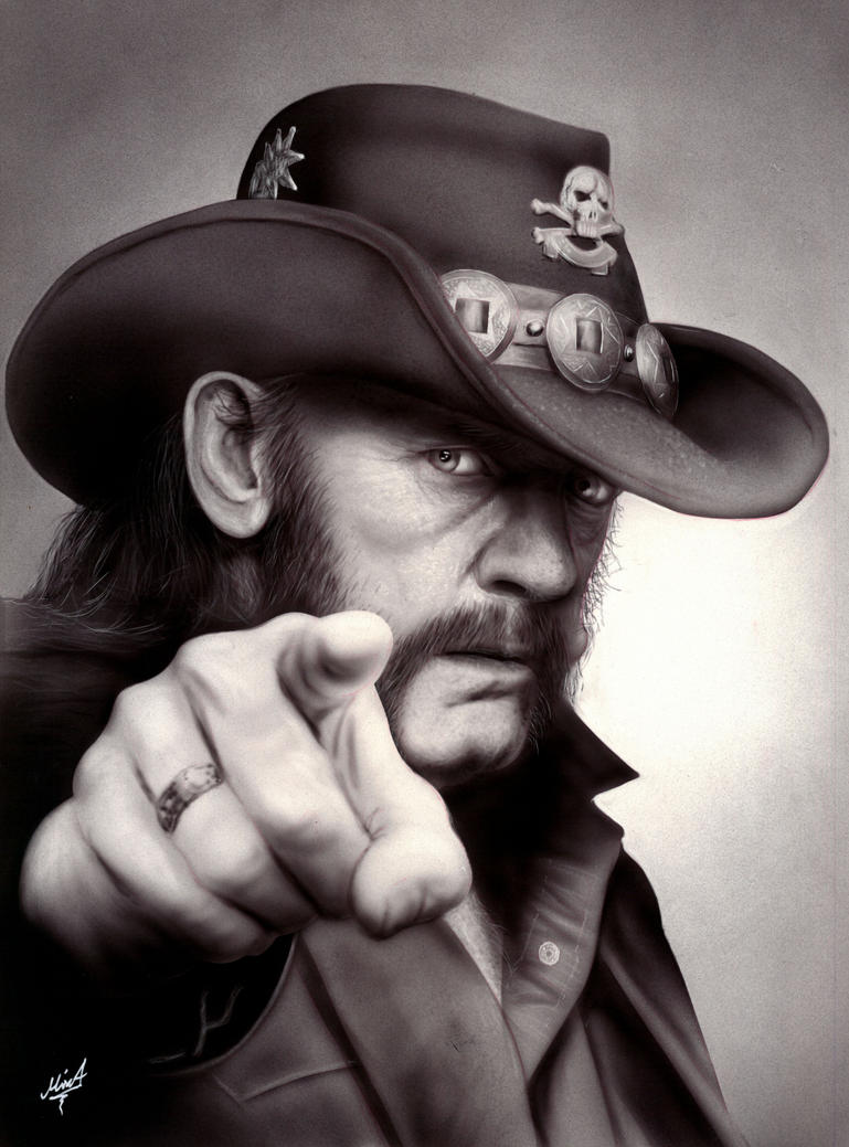 20170511 Lemmy by MixaArt