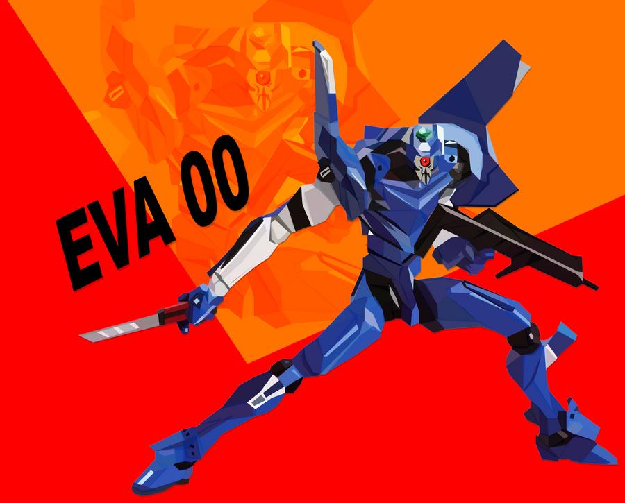 EVA 00 by Tornaku
