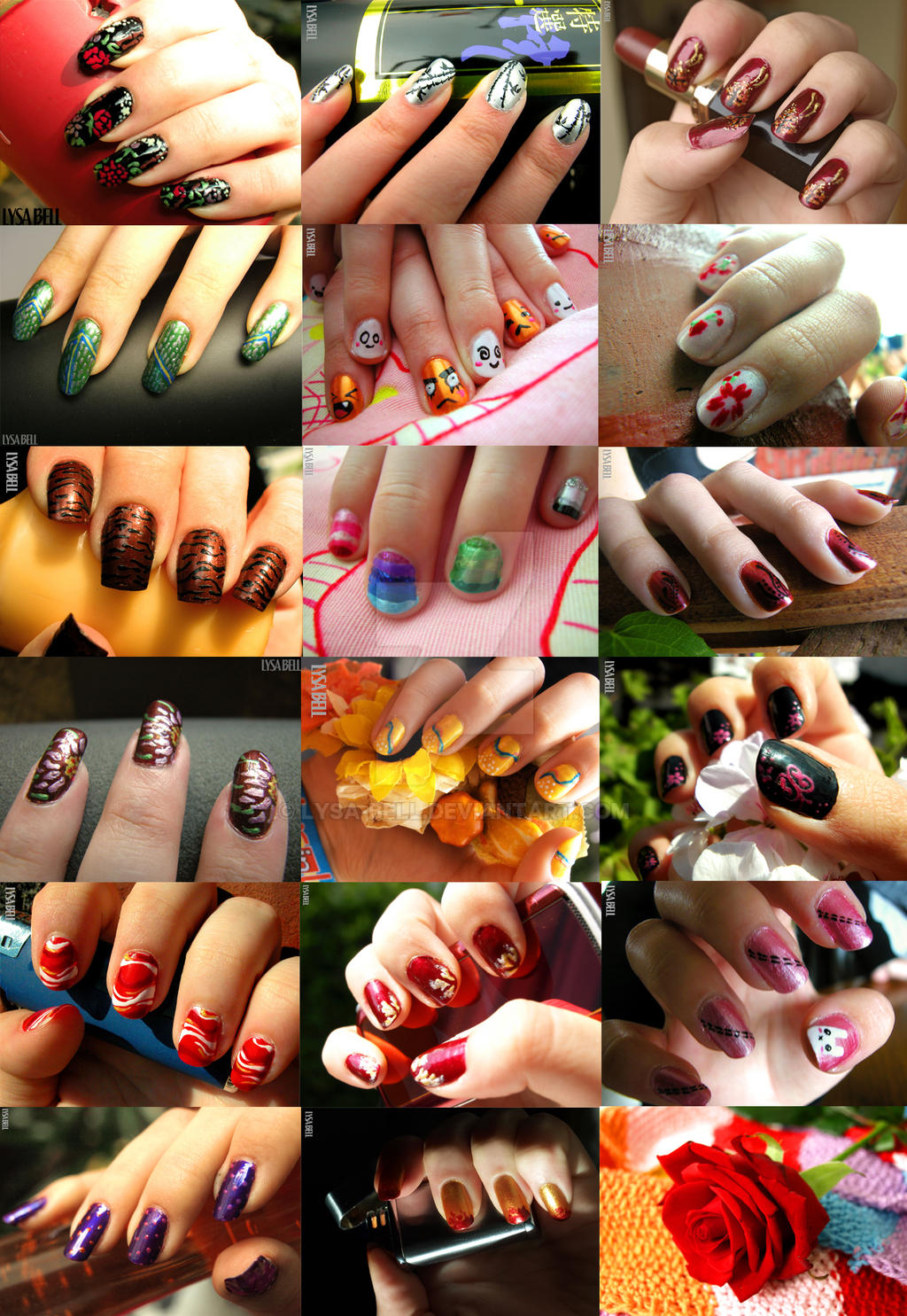 Nail art by Lysa-Bell