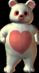 PNG Cute Pink Heart Bear 2