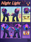 ADOPTION: Nigh Light Reference Sheet: CLOSED by TheNornOnTheGo