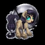 Commission: Silver Mine Chibi