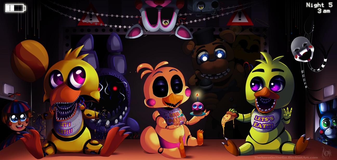 Chica Plays Five Nights At Candy S 2 Night 3 Vidoemo