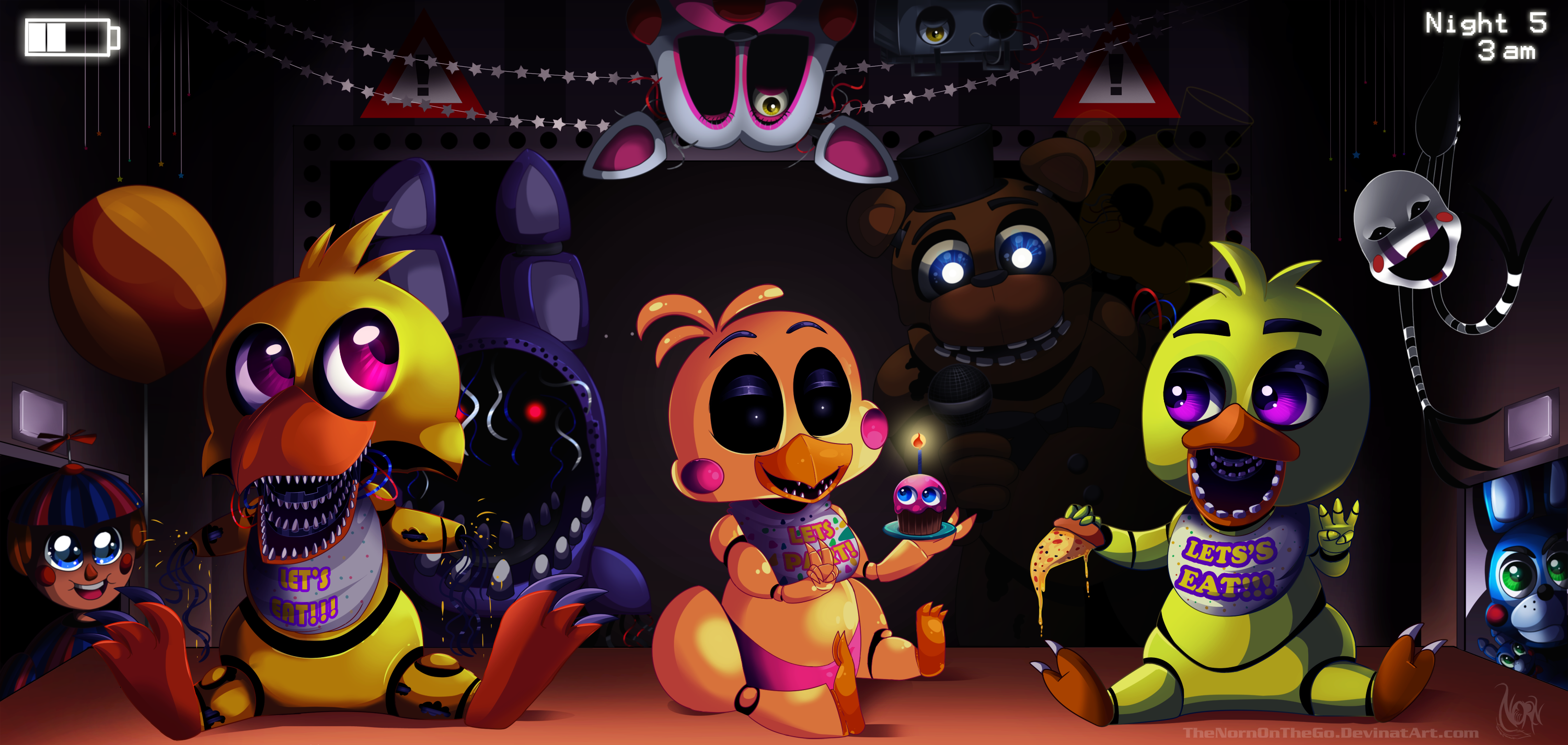 Five night s at freddy s 2 by thenornonthego d86mzjr png