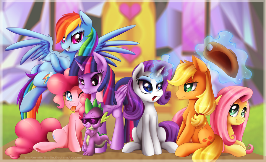 My little pony wallpaper by thenornonthego on deviantart - My little pony cutie mark wallpaper ...