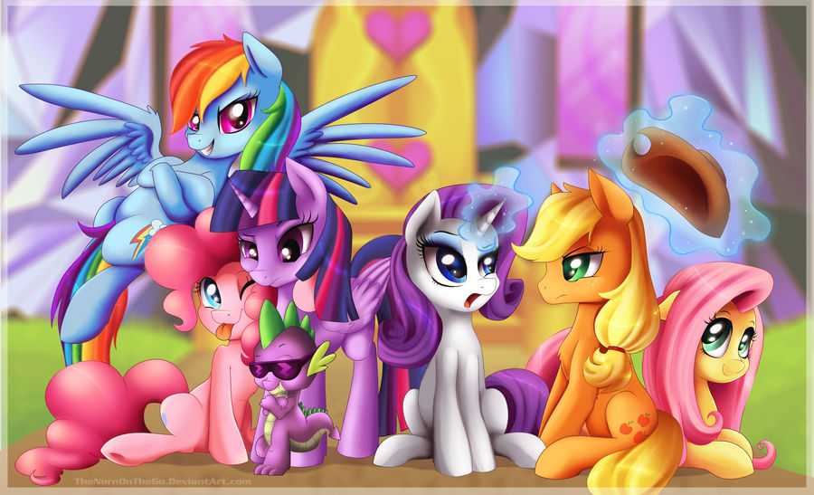 My Little Pony Wallpaper by TheNornOnTheGo ...