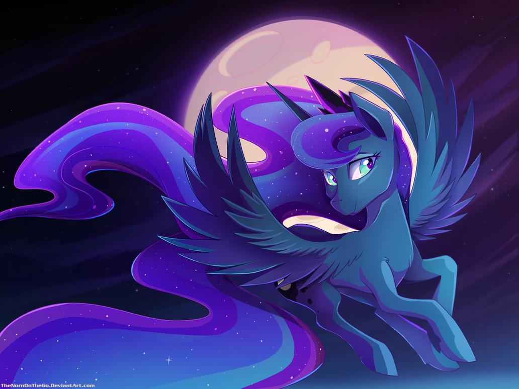 Beautiful Luna by TheNornOnTheGo