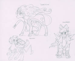 MagicaITrevor August Sketches by TheNornOnTheGo
