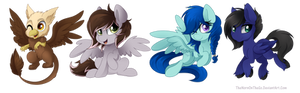 Commission: TheMochaPony Chibi Set