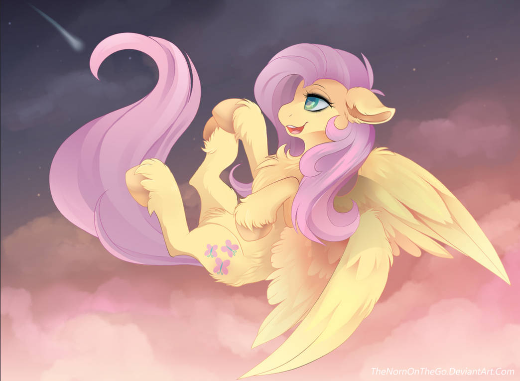 make_a_wish__fluttershy_by_thenornontheg