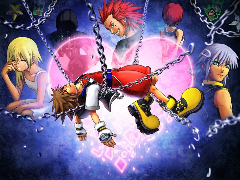 kingdom hearts chain of memories banner by conangiga on