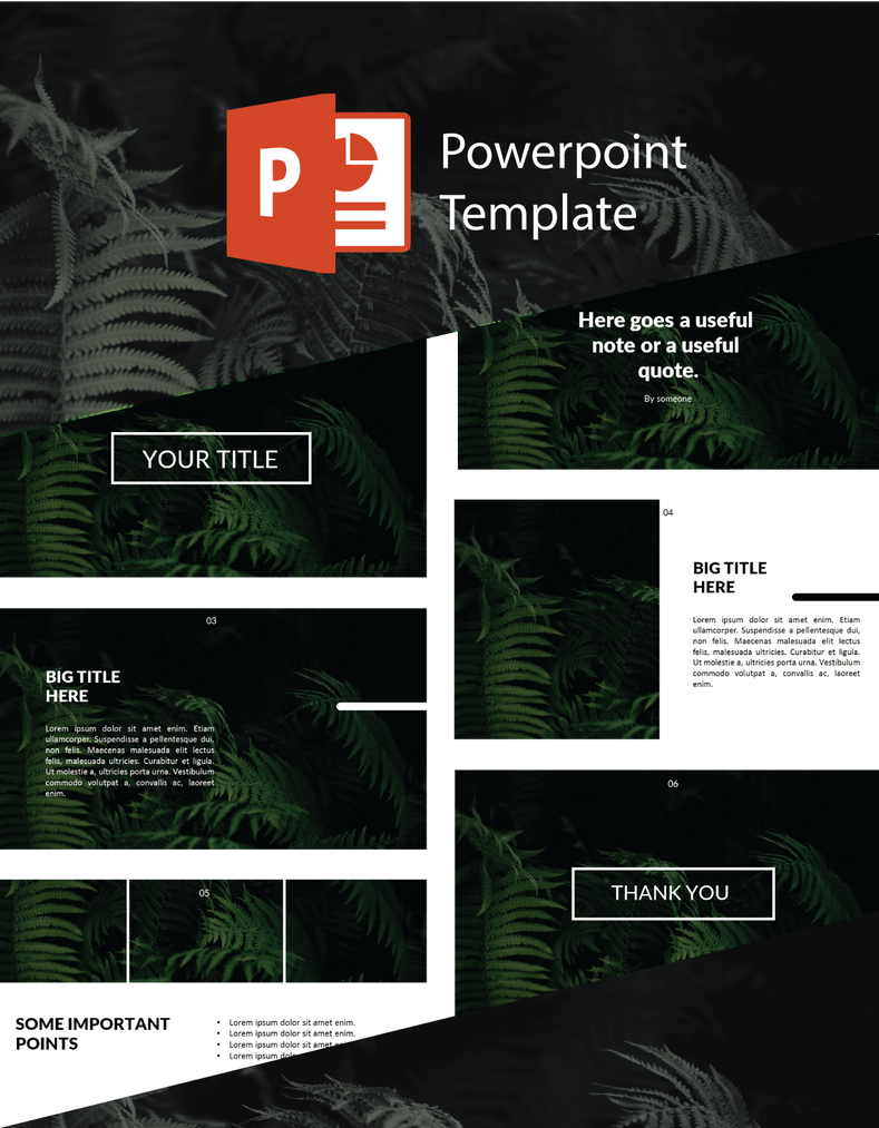 Free powerpoint template 6slides by munanazzal on deviantart free powerpoint template 6slides by munanazzal toneelgroepblik Image collections