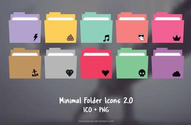 Minimal Folder Icons 2.0 by MunaNazzal