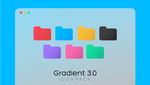 Gradient Folder Icons 3.0 by MunaNazzal