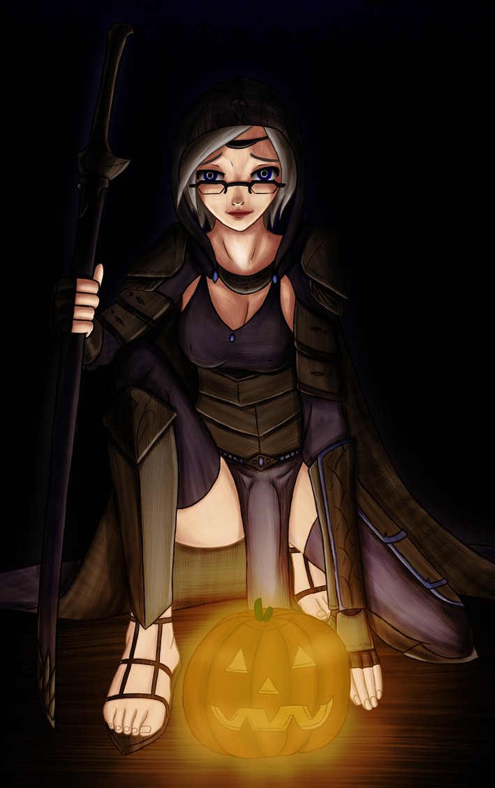 Marie's Halloween by Nixoclash