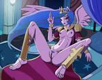 Commission #189 - Princess Celestia by Artemis-Polara