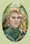Finrod Felagund by Velouriah