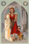 Nernadel and her Sons by Velouriah