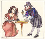 Checkmate, milady! No, pat, milord. by Chreak