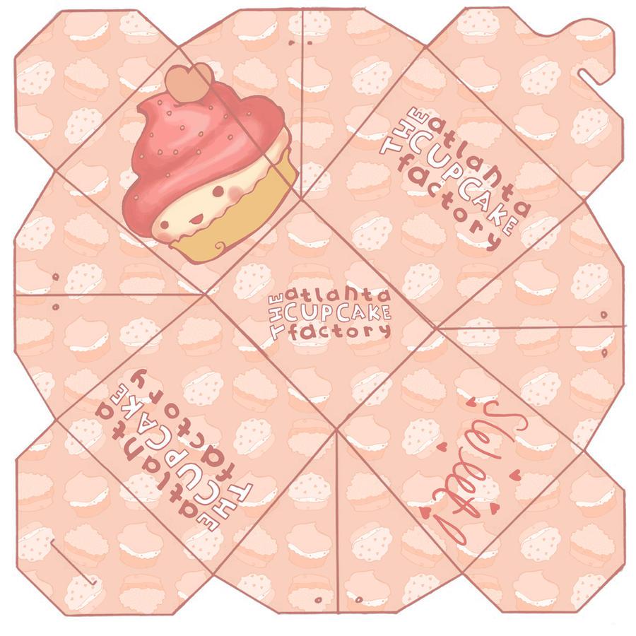 Cupcake Take-Out Box by sinsofautumn on DeviantArt
