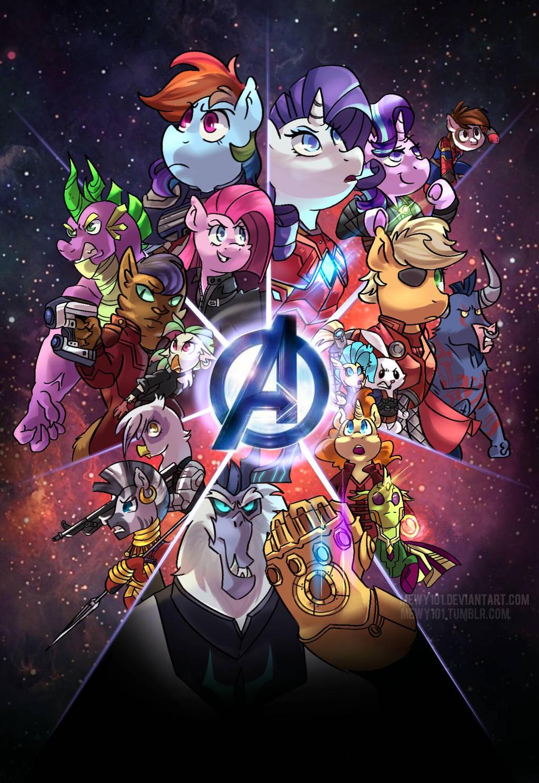 My Little Avengers: Harmony War