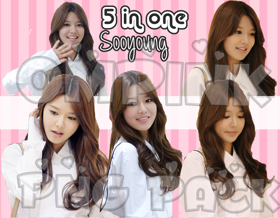 SNSD Sooyoung Render/PNG pack by ompink