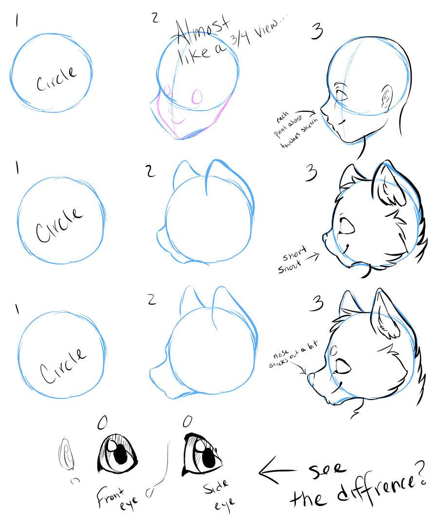 side face tutorial by nevaeh-lee