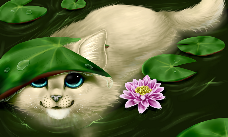 lily pads by nevaeh-lee