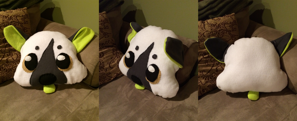 character pillow by nevaeh-lee