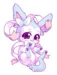 Shiny Sylveon! by nevaeh-lee