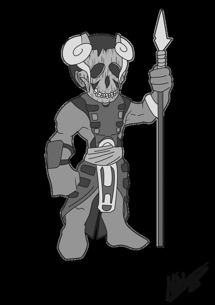 Brutsga Two Horns by Ravenarkh on DeviantArt