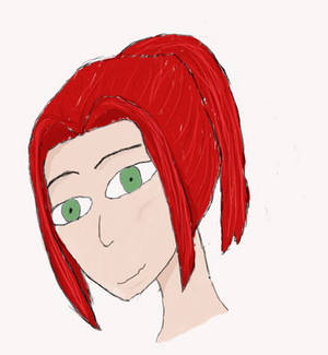 Nanase with ponytail