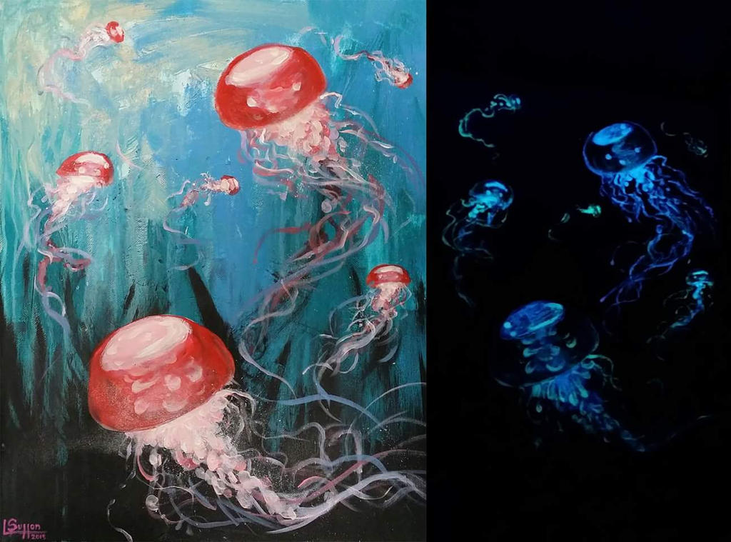 Glow Jellies 3 by solid-alcohol