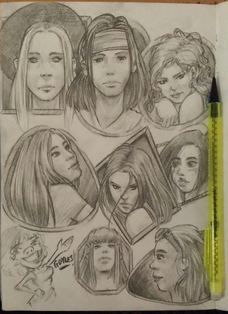 A page of guuuuurls! by solid-alcohol