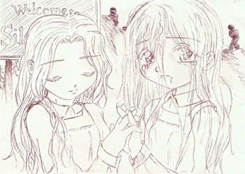 Kakao12 Silent Hill skizze by Black-Lulu