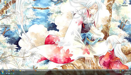 Sesshoumaru and InuYasha