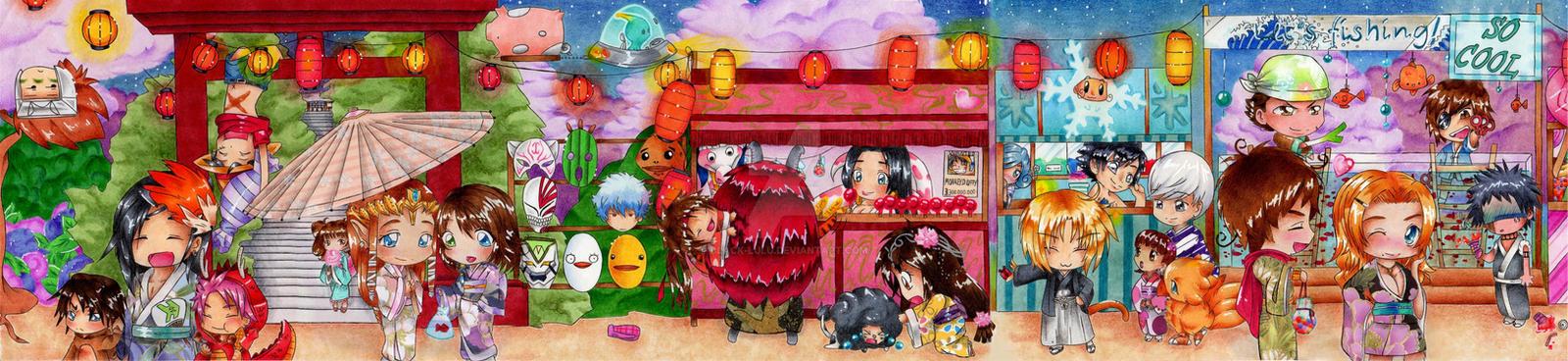 Festival of Chibis Part II by Black-Lulu