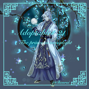 [Close] Adoptable #21 Prince in moonlight