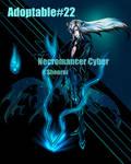 [Open] Adoptable #22 Necromancer Cyber by shenruian