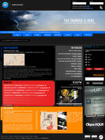 Thunder-Design.net layout by fluid-art