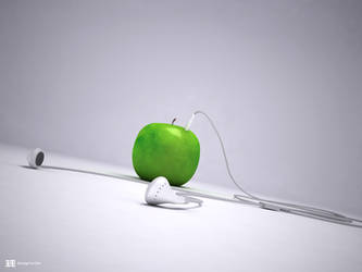 Apple iPod by fluid-art
