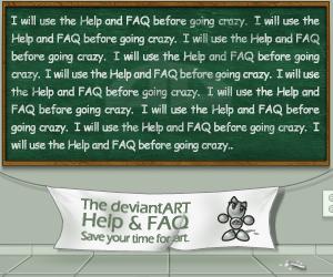 Help and FAQ dA Contest by fluid-art