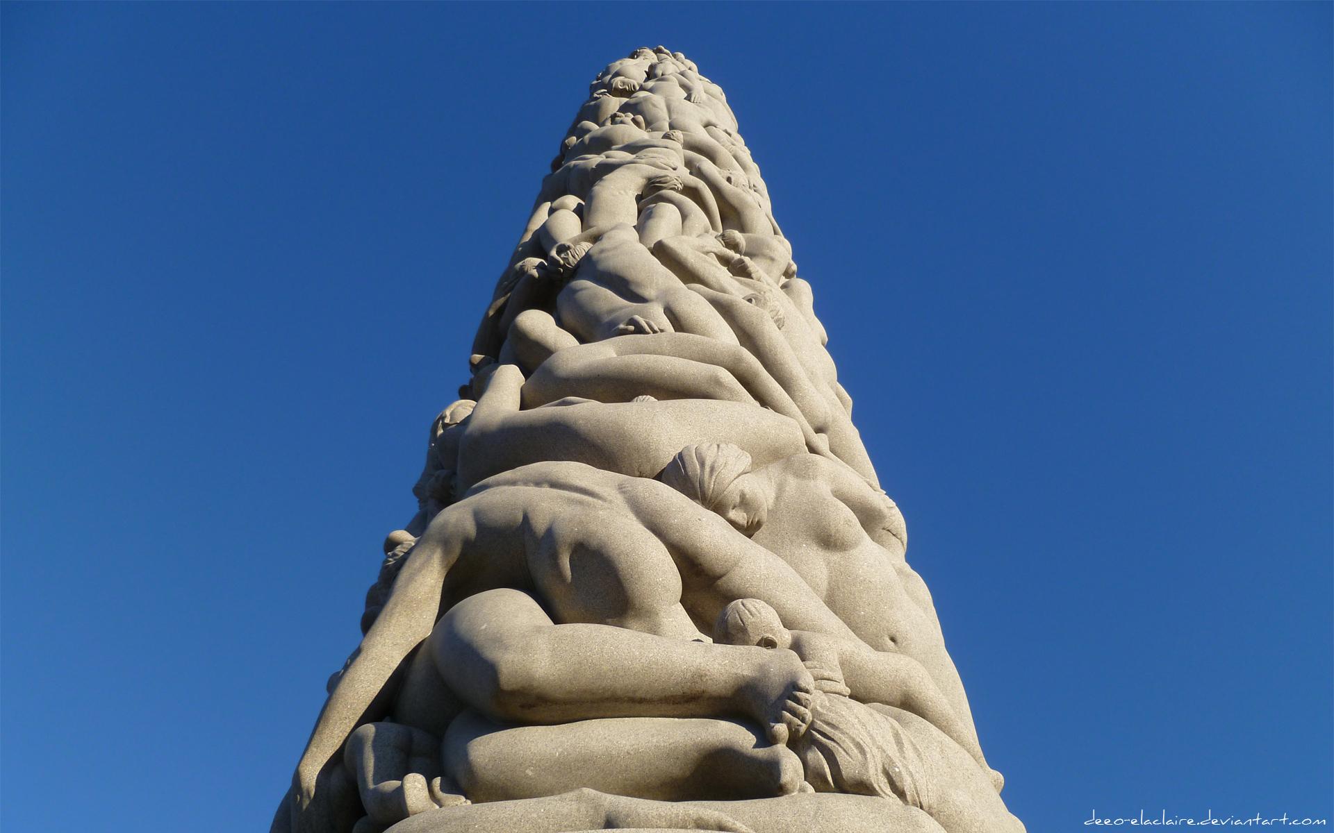 Vigeland Sculpture Park 6 by Deeo-Elaclaire
