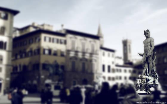 Piazza della Signoria by Deeo-Elaclaire