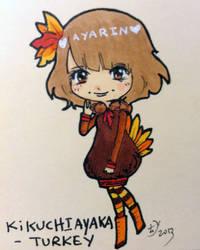 Kikuchi Ayaka as Turkey