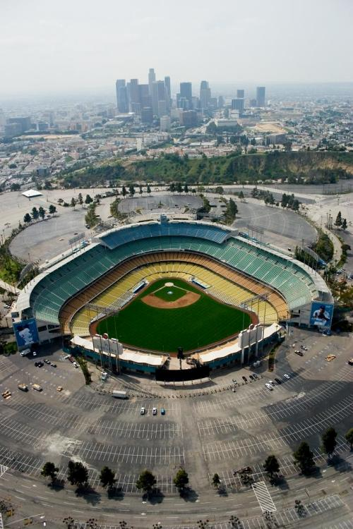 LA Dodger Stadium by AmateurPhoto