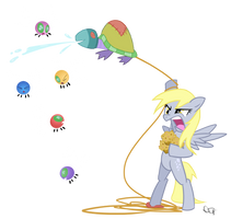 Derpy Hooves' ParaFight 2 by yiKOmega