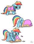 Rainbow Dash in Costume