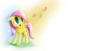 Filly Fluttershy by yiKOmega
