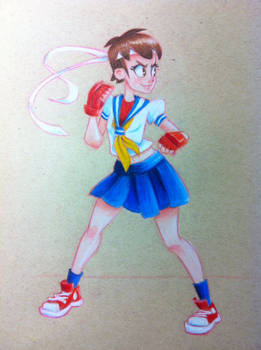 Street Fighter - Sakura